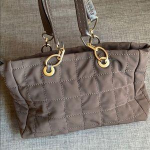 Donald J Pliner Nylon Quilted Tote Bag